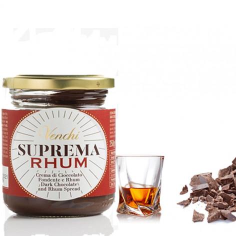 VENCHI Suprema Crema spalmabile con cioccolato e Rhum