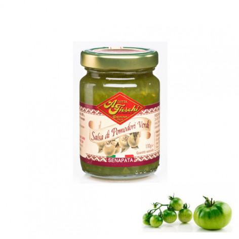 Salsa di Pomodori verdi senapata - 110 gr.