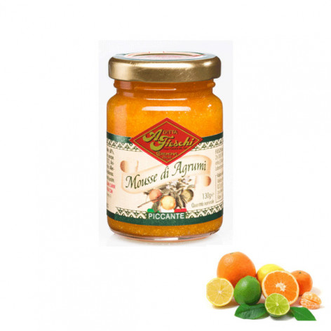 Mousse di agrumi piccante - 130  gr.