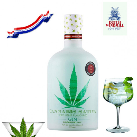 Gin di CANNABIS SATIVA - 700 ml.