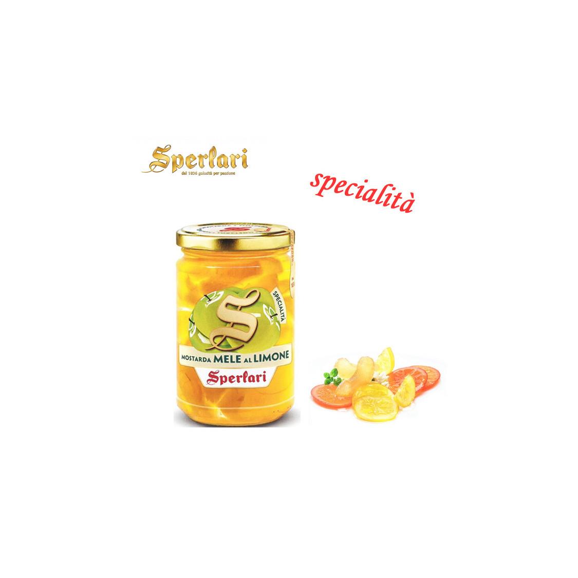 SPERLARI Mostarda di Mele al Limone - 380 gr.