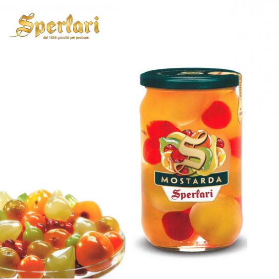 Mostarda SPERLARI frutta mista - 720 gr.