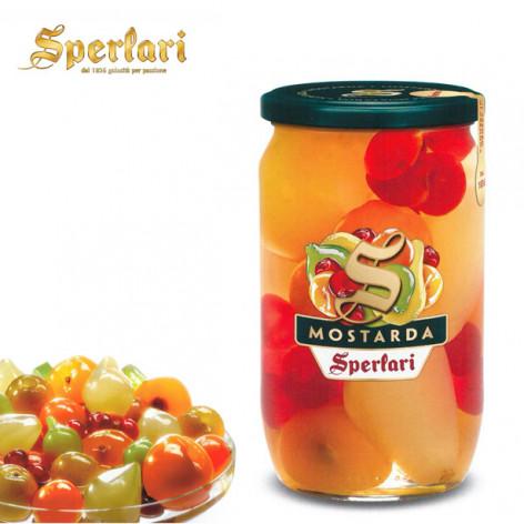 Mostarda SPERLARI frutta mista - 915 gr.