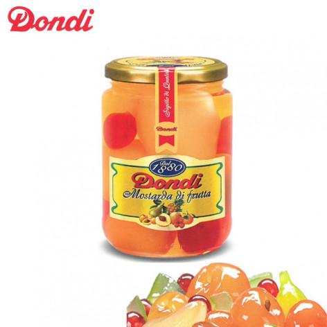 Mostarda di frutta mista DONDI -  560 gr.