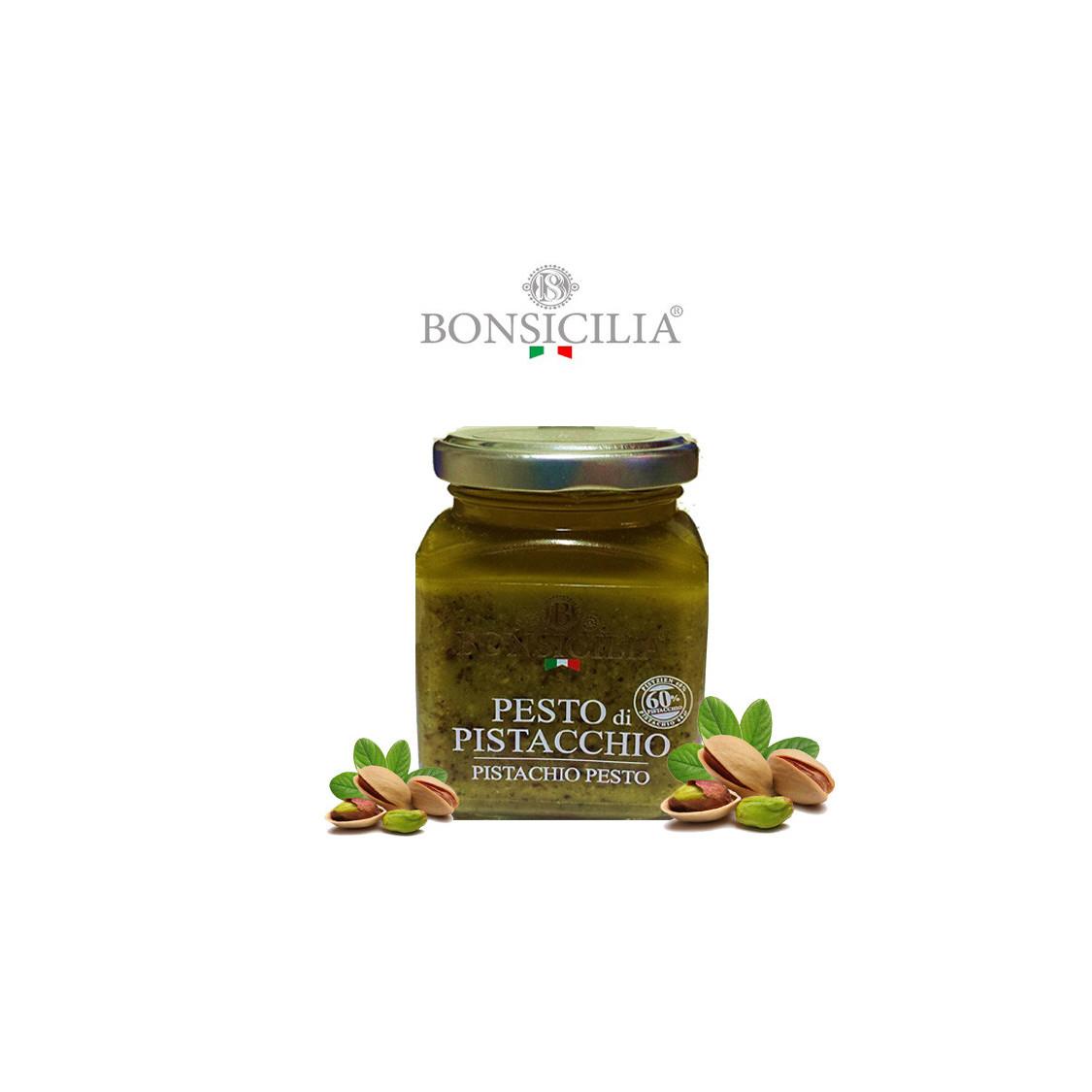 BONSICILIA - Pesto di Pistacchio - 190 gr