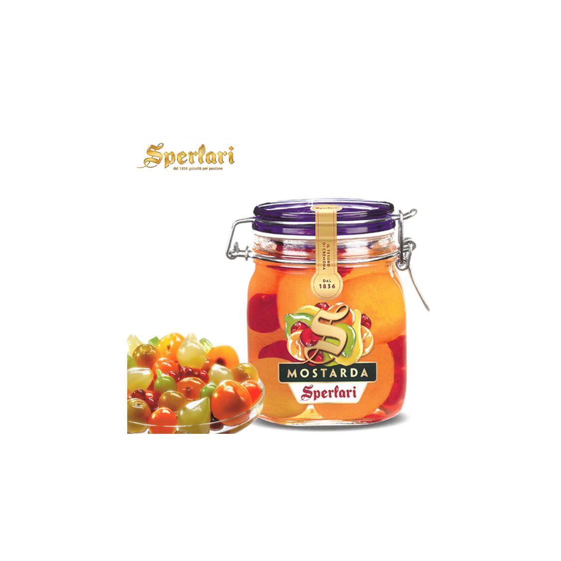 Mostarda SPERLARI frutta mista - 1000 gr.