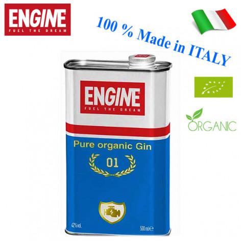 "Gin ENGINE ""Pure Organic Gin"" - 500 ml"