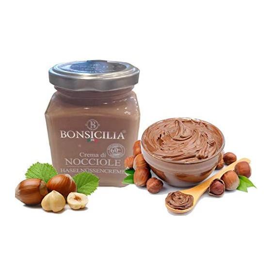 BONSICILIA Crema di Nocciole - 190 gr