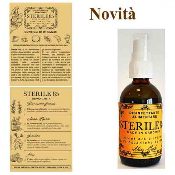 SILVIO CARTA Sterile 85° - 50 ml