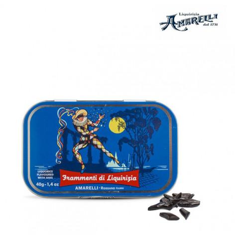 """AMARELLI Lattina """"Arlecchino"""" di liquirizia - 40 gr"""
