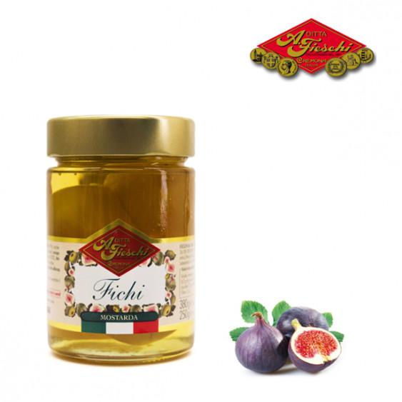 Mostarda di fichi FIESCHI - 380 gr.