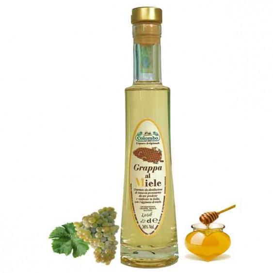 Grappa al miele  COLOMBO - 50 cl