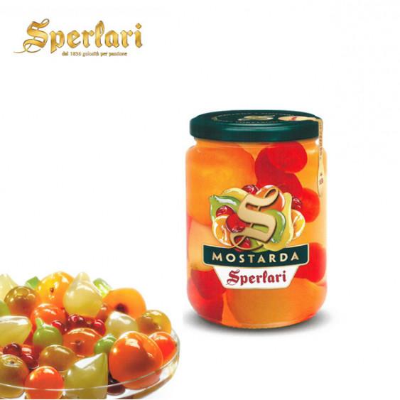 Mostarda SPERLARI frutta mista - 560 gr.