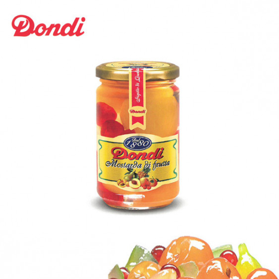 Mostarda di frutta mista DONDI - 380 gr.