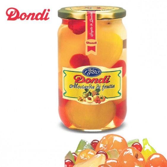 Mostarda di frutta mista DONDI - 720 gr.