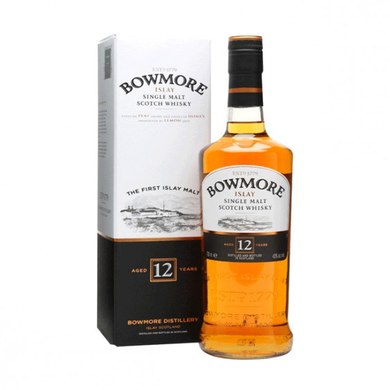 Scotch Whisky BOWMORE 12 years