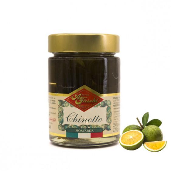 Mostarda di chinotto FIESCHI - 350 gr.