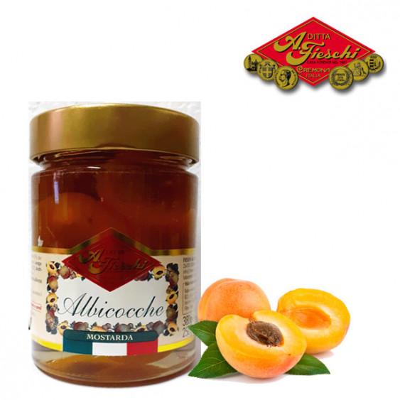 Mostarda di albicocche FIESCHI - 380 gr.