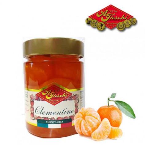 Mostarda di clementine FIESCHI - 380 gr.