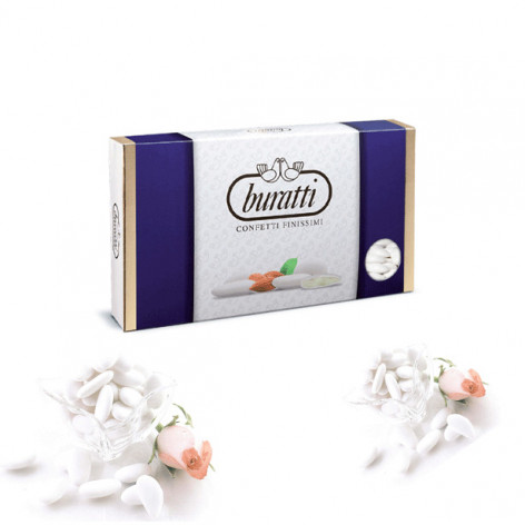 BURATTI Confetti mandorla CAPRI Kg. 1 bianchi