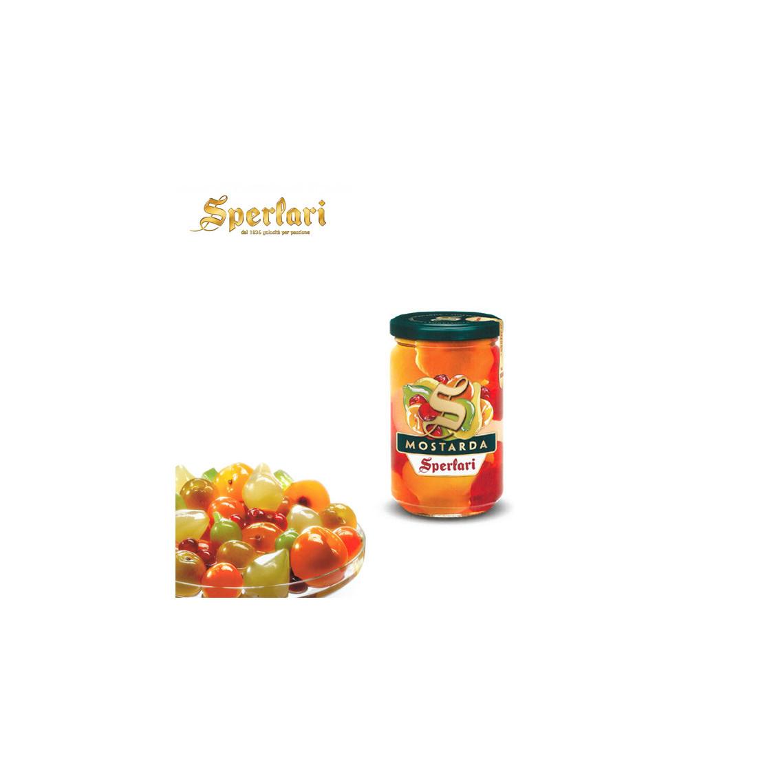Mostarda SPERLARI frutta mista - 380 gr.