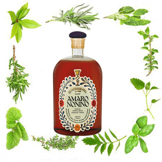 """Amaro NONINO """"Quintessentia"""" - 700 ml."""